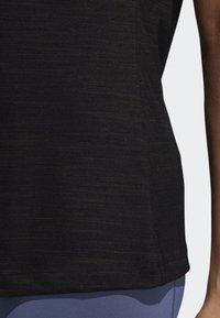 adidas Performance - BADGE OF SPORT T-SHIRT - Print T-shirt - black - 6