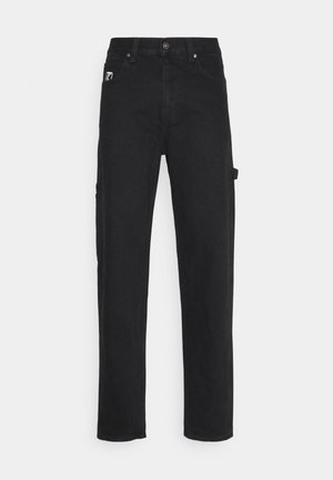 RINSE PANTS - Relaxed fit jeans - black