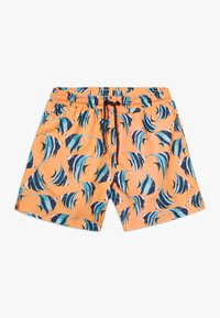 Sunuva - BOYS FISH SWIM - Szorty kąpielowe - neon orange - 0