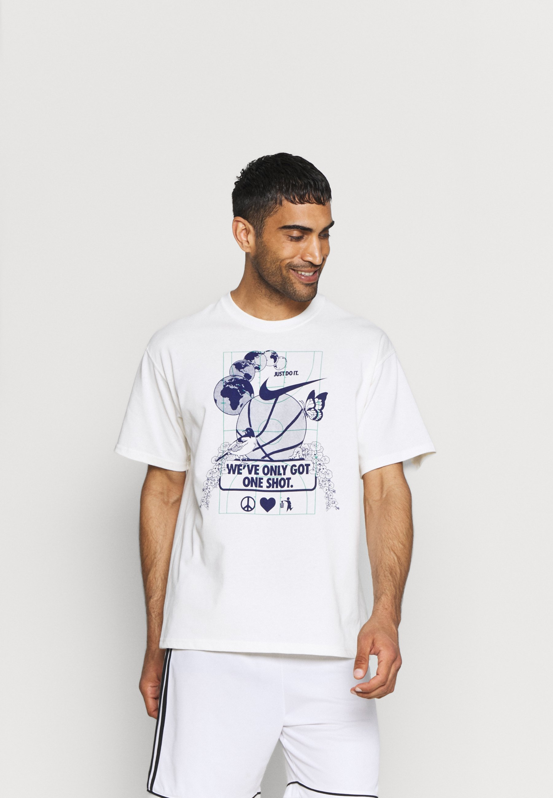 Men WE VE ONLY GOT ONE SHOT TEE - Print T-shirt