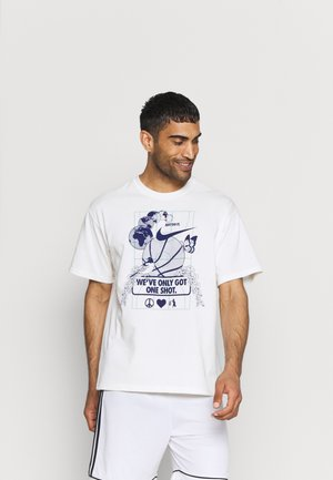 WE VE ONLY GOT ONE SHOT TEE - Print T-shirt - pure
