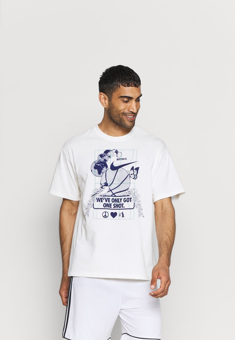 Nike Performance - WE VE ONLY GOT ONE SHOT TEE - Print T-shirt - pure
