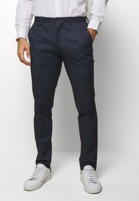 Selected Homme - SLHSLIM-AIDEN - Trousers - navy blue - 0
