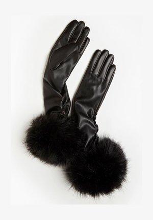 Fingerhandschuh - schwarz