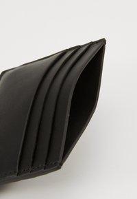Calvin Klein - SMOOTH PLAQUE CARDHOLDER - Wallet - black - 5