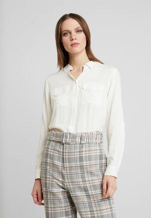 RADIA - Button-down blouse - off white
