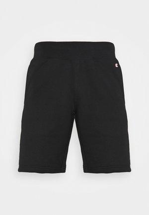 BERMUDA - Short de sport - black/white