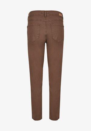 Slim fit jeans - dunkelbraun
