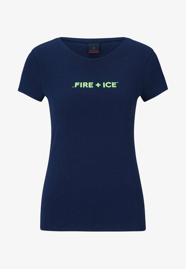 AUREA - T-shirt imprimé - dunkelblau