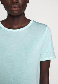 Bruuns Bazaar - KATKA ALICIA TEE - Basic T-shirt - dream blue - 7