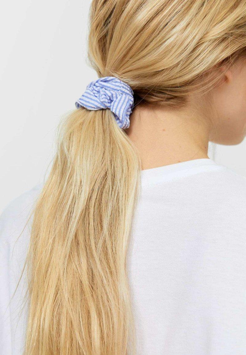 Stradivarius - 3 PACK - Hair styling accessory - light blue