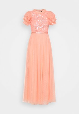 SHIRLEY RIBBON BODICE ANKLE MAXI DRESS - Ballkleid - coral