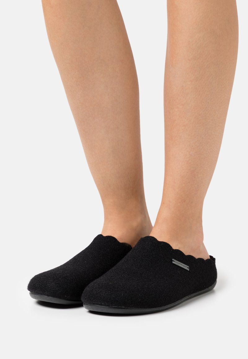 Shepherd - PAULINA - Slippers - black