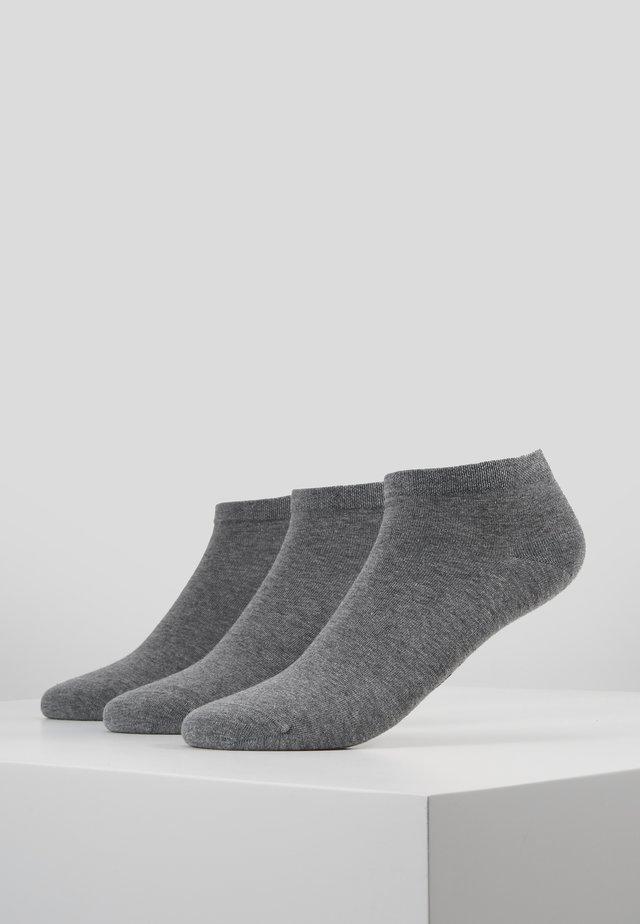 SNEAKER WOMEN 3 PACK - Socks - grey