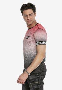 Cipo & Baxx - Print T-shirt - red - 4