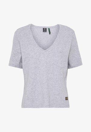 CORE OVVELA - T-shirt med print - grey heather