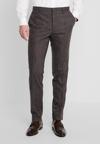 Shelby & Sons - NEWTOWN SUIT - Suit - dark brown - 4