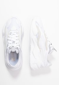 Puma - RS-X UNISEX - Tenisky - white/silver - 1