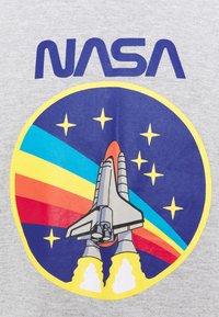 Nominal - NASA ROCKET TEE  - Print T-shirt - grey marl - 2