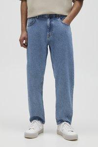 PULL&BEAR - Jeans a sigaretta - light blue - 0