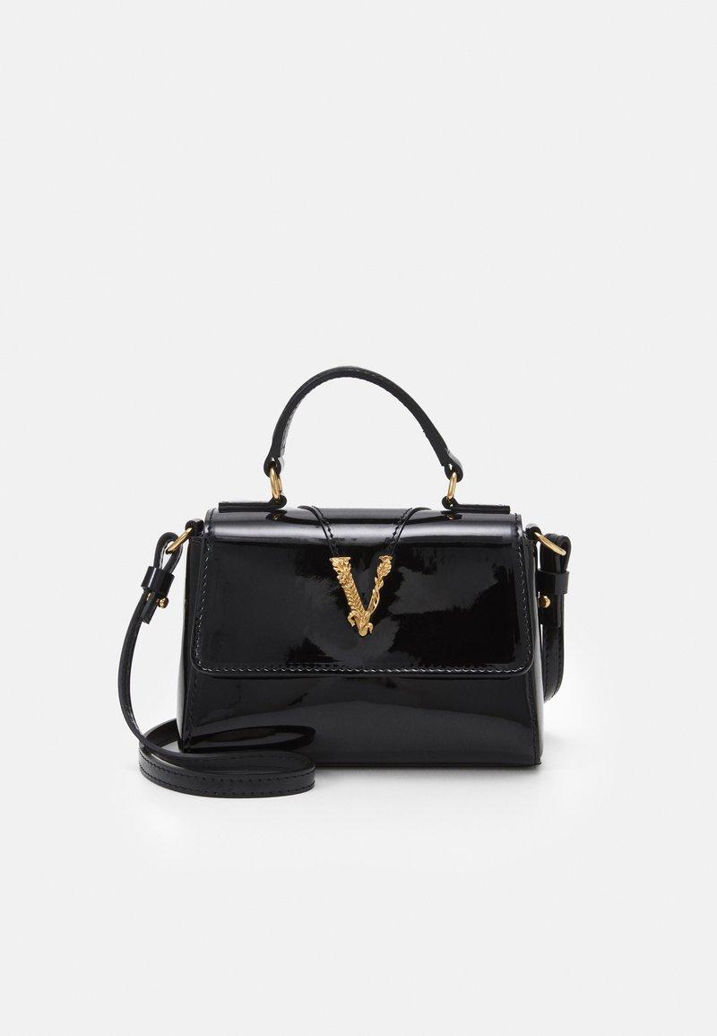 Versace - BAG  - Taška spříčným popruhem - black/gold-coloured