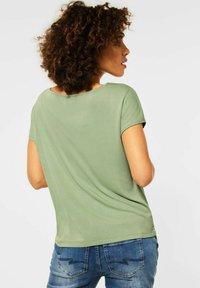 Street One - Print T-shirt - grün - 1