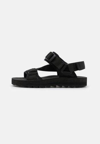 ALPINE STRAP - Walking sandals - black