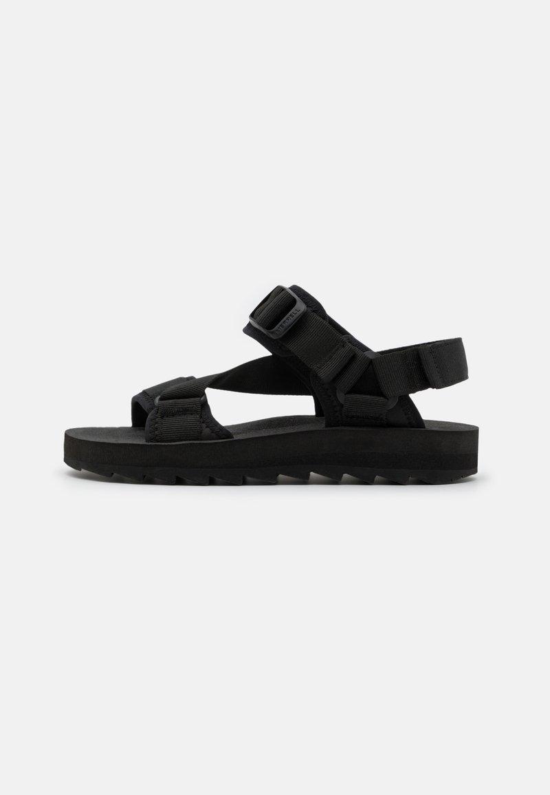 Merrell - ALPINE STRAP - Walking sandals - black