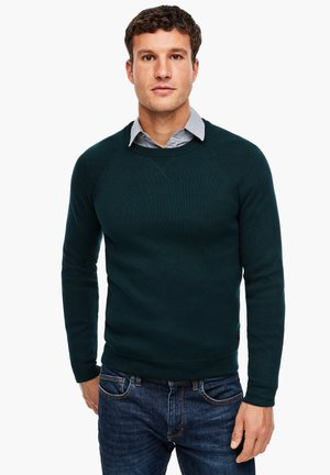 MIT RAGLANÄRMEL - Jumper - dark green