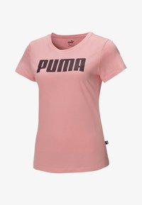Puma - ESSENTIALS  - Print T-shirt - salmon rose - 0