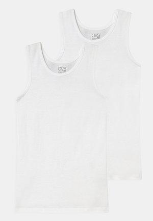 KID SINGLET 2 PACK - Maglietta intima - brilliant white