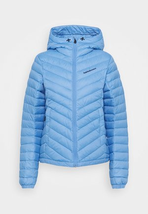 FROST HOOD JACKET - Bunda z prachového peří - blue elevation