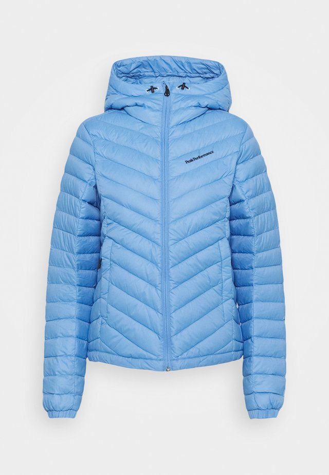 FROST HOOD JACKET - Down jacket - blue elevation