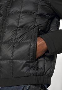 Calvin Klein Jeans - MOTO JACKET - Light jacket - black - 5