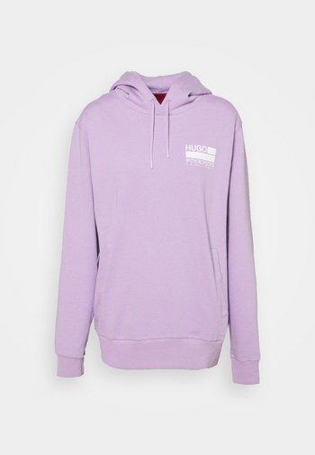 Hoodie - bright purple