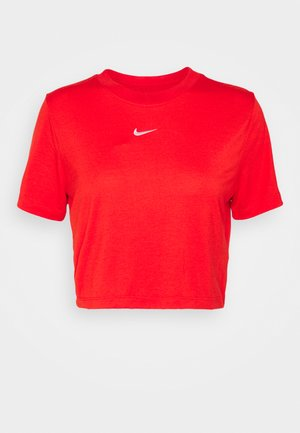 TEE - Print T-shirt - chile red/white