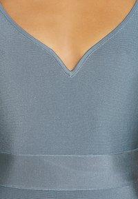 Hervé Léger - SWEETHEART CAP ICON DRESS - Shift dress - abalone - 6
