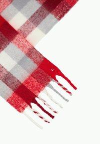 s.Oliver - Scarf - dark red check - 4