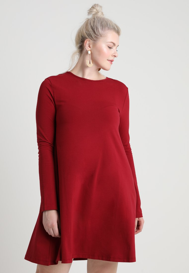 Zalando Essentials Curvy - Jersey dress - red