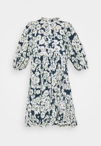 byTiMo - DOBBY MIDI DRESS - Shirt dress - blue - 5