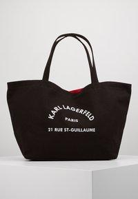 KARL LAGERFELD - RUE ST GUILLAUME TOTE - Shopping Bag - black - 0
