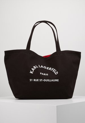 RUE ST GUILLAUME TOTE - Shopping bags - black