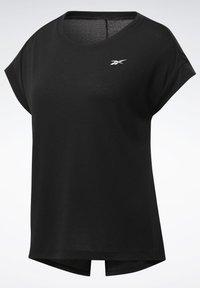 Reebok - WORKOUT READY SUPREMIUM DETAIL - Print T-shirt - black - 7