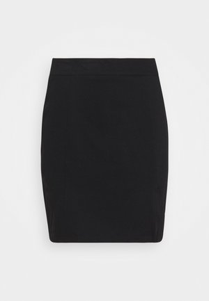 NMBALE SLIT SKIRT - Mini skirts  - black