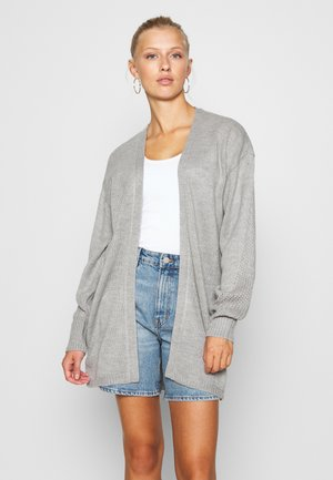 JDYJAYCEY CARDIGAN - Cardigan - light grey melange