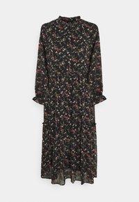 Vero Moda - VMSYLVIA CALF DRESS - Vestito estivo - black/rose - 0