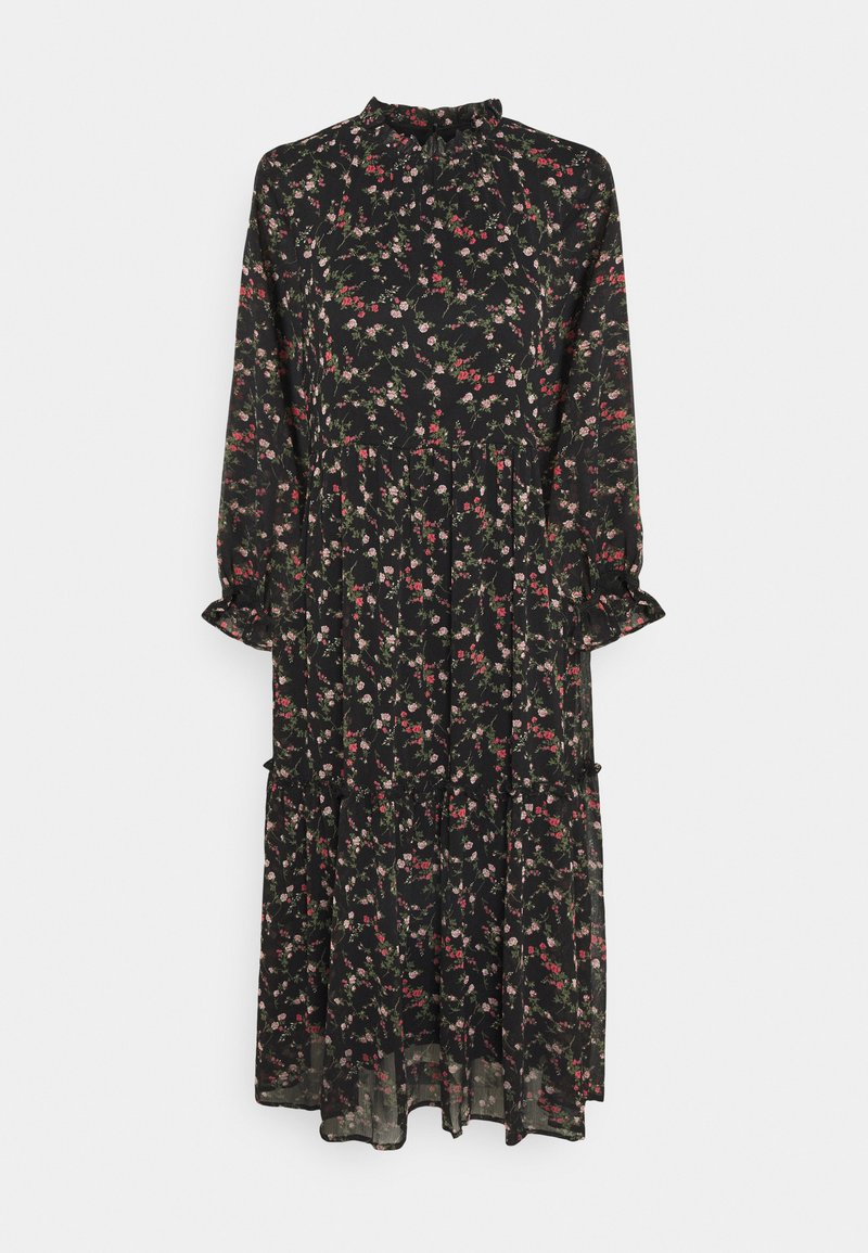 Vero Moda - VMSYLVIA CALF DRESS - Vestito estivo - black/rose