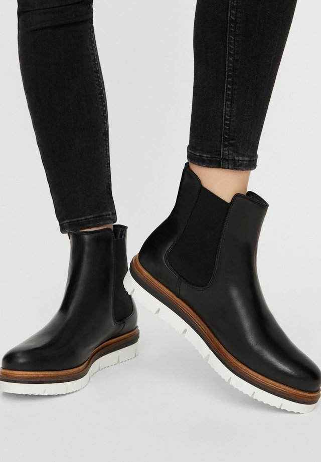 WARM CLEATED CHELSEA - Ankle boots - Black
