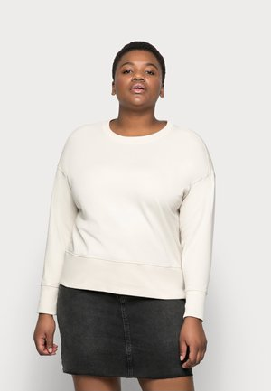 VMLENKA WIDE CROP - Sweatshirt - birch