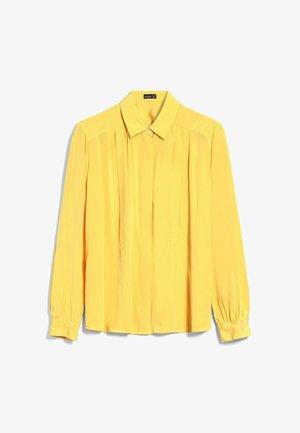 M-BIRTE - Button-down blouse - gelb
